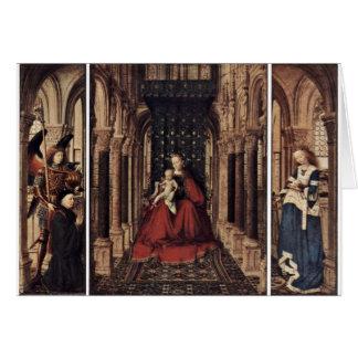 Annunciation By Eyck Jan Van (Best Quality) Card
