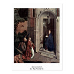 Annunciation By Jan Van Eyck Postcards