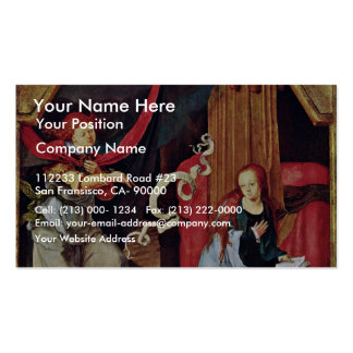 Annunciation By Leyden Lucas Van (Best Quality) Pack Of Standard Business Cards