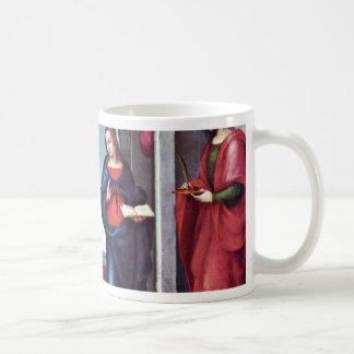 Annunciation By Mariotto Albertinelli (Best Qualit Mug