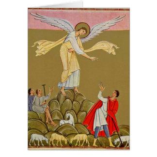 Annunciation By Master Of The Reichenau School Card