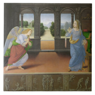 Annunciation Ceramic Tile