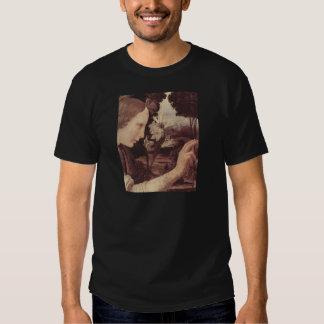 Annunciation, detail t shirts