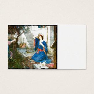 Annunciation in the Garden Business Card
