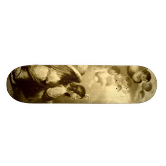 Annunciation of Blessed Virgin Mary 19.7 Cm Skateboard Deck