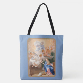 Annunciation of Mary Archangel Gabriel Tote Bag