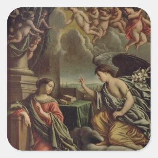 Annunciation Square Sticker