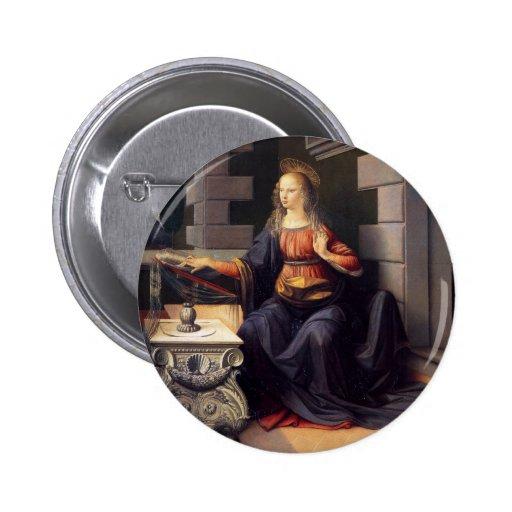 Annunciation - Virgin Buttons