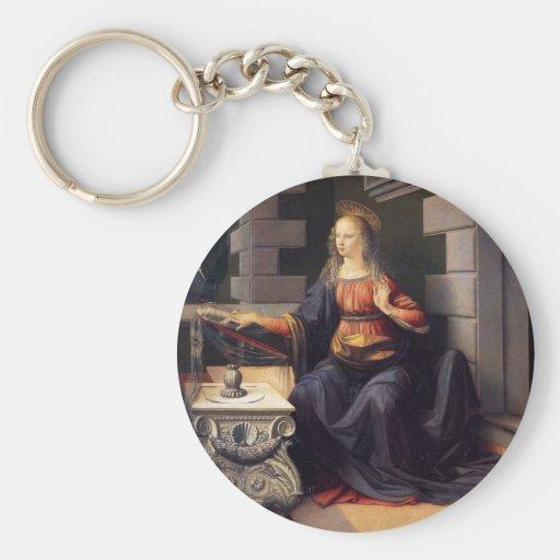 Annunciation - Virgin Keychain