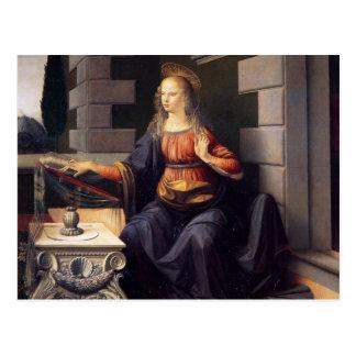 Annunciation - Virgin Postcard