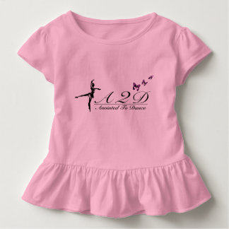 Anointed to Dance Toddler Ruffle Tee