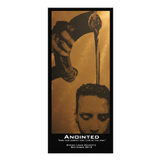 """Anointed"" Value Bookmarks Rack Card"