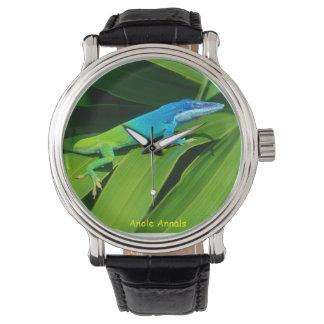Anole Watch: Anolis allisoni Wristwatch