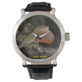 Anole Wristwatch: Anolis marcanoi Wristwatch