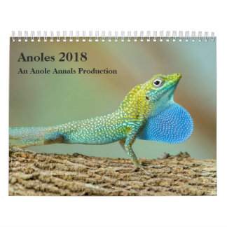 Anoles 2018 - An Anole Annals Production Calendar