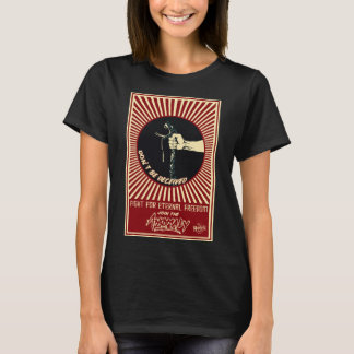 """Anomaly"" of The Fountain Ladies Black T-Shirt"