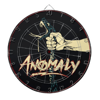 """Anomaly"" of The Fountain Metal Cage Dart Board"