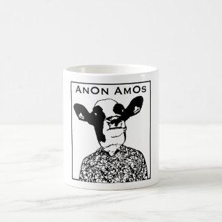 AnOn AmOs - Designer Cow Coffee Mug