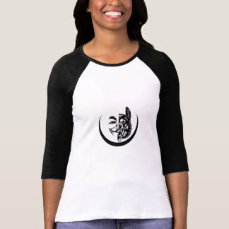 AnonWolfTV.com - Ladies Fitted Top Tshirts