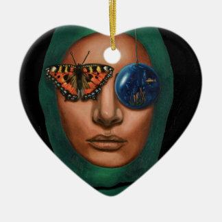 Anonymous 3 ceramic heart decoration