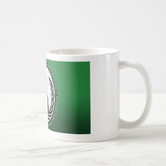 anonymous basic white mug