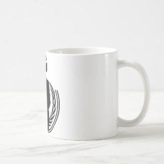 Anonymous DJ Basic White Mug