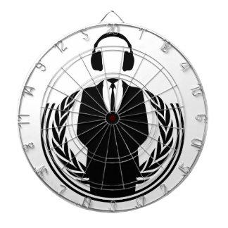 Anonymous DJ Dartboard