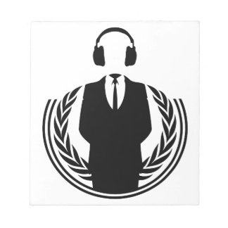 Anonymous DJ Scratch Pads