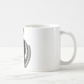 Anonymous DJ smiley Basic White Mug