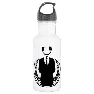 Anonymous DJ smiley 532 Ml Water Bottle