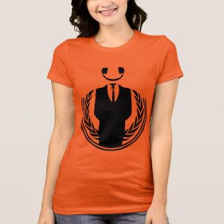 Anonymous DJ smiley T-Shirt