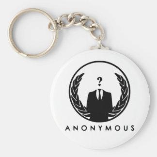 Anonymous Logo Key Ring