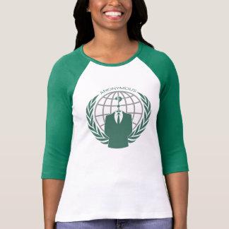 Anonymous Logotype Fashion T-Shirt