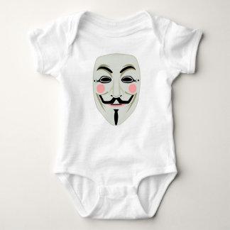 Anonymous Mask Baby Bodysuit