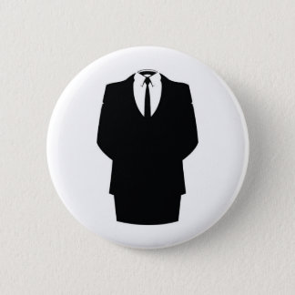 #anonymous ops 6 cm round badge