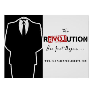 Anonymous Revolution Poster