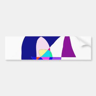 Anonymous Sailboat Bumper Sticker