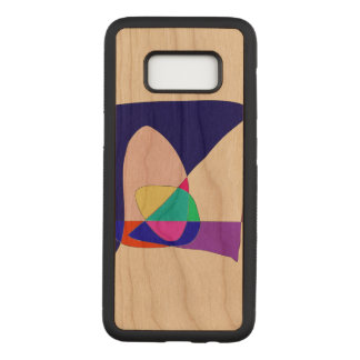 Anonymous Sailboat Carved Samsung Galaxy S8 Case