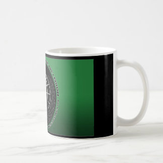 anonymous slogan * logo basic white mug