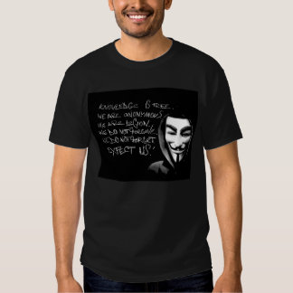 anonymous t shirt