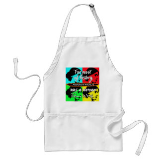 Anonymous Was a Woman ~ Virginia Woolf quote Standard Apron