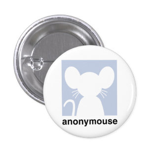 Anonymouse 3 Cm Round Badge