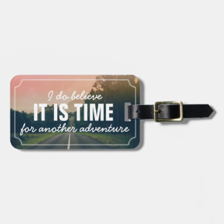 Another Adventure Road Trip | Personalized Travel Luggage Tag