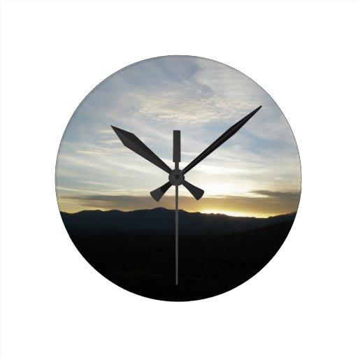 Another Arizona Sunset Clocks