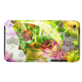 Another beautiful scene of flowers - Mixed Art! Barely There iPod Case
