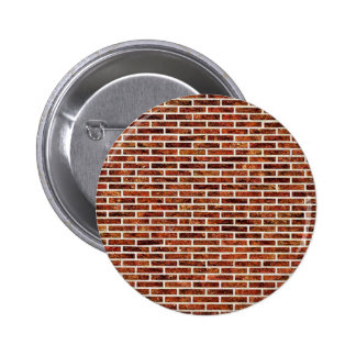 ANOTHER BRICK IN THE WALL! (Red Brick Pattern) ~ 6 Cm Round Badge