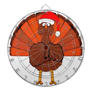Another Christmas Turkey Dartboard