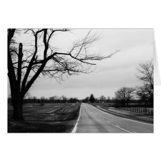 """another country road"" by Larry Coressel Card"