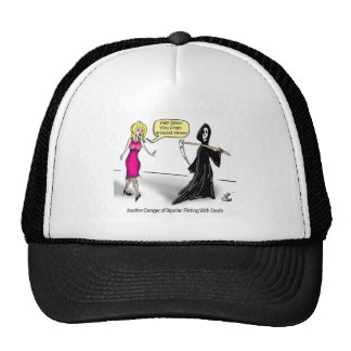 Another Danger of Bipolar: Flirting With Death Trucker Hats