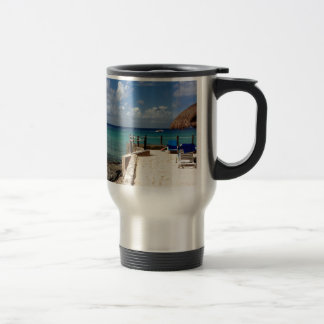 Another day at the Beach... Travel Mug